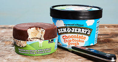 Introducing Ben Jerrys Pint