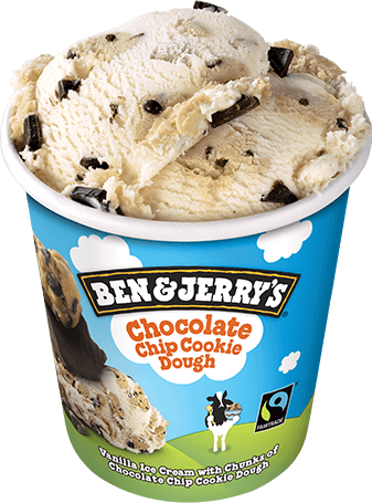 Chocolate Chip Cookie Dough Original Ice Cream Pint