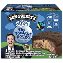 The Tonight Dough® Original Ice Cream Pint Slices