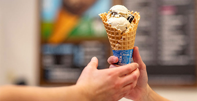 Ben & Jerry's Ice Cream Cone