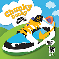 From Licks To Kicks: Nike SB Launches Ben & Jerry's Chunky Dunky Sneaker